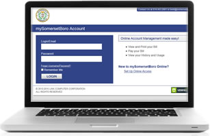 Manage your Borough of Somerset Water/Sewer Account Online