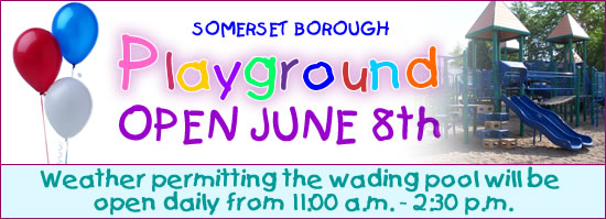 Somerset Borough Playground Opens